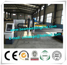 China Heavy Duty Steel Metal Plate Profile Gantry CNC Plasma Cutting Machine distributor