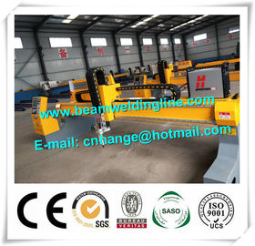 China CNC Plasma Metal Cutting Machine , Gantry Sheet CNC Plasma Cutting Machine distributor