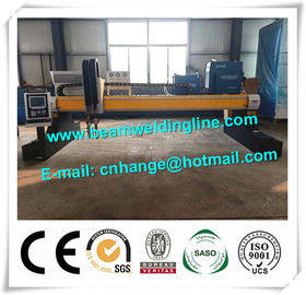 China CNC Gantry Crane Plasma Flame Cutting Machine , MEtal Sheet Plasma Cutting Machine distributor