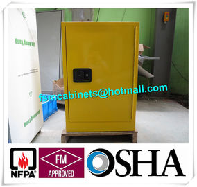 China Fire Resistant Industrial  Safety Cabinet , Flame Proof Storage Cabinets 20 Gallon distributor