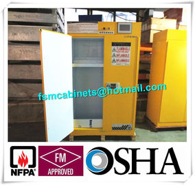 China Filtered type Flammable Storage Cabinet , Industrial Safety Cabinet With Ventilation System distributor