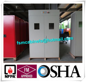 China Flammable Industrial Safety Cabinet For Cylinder Storage , Cylinder Safety Storage Cabinet distributor