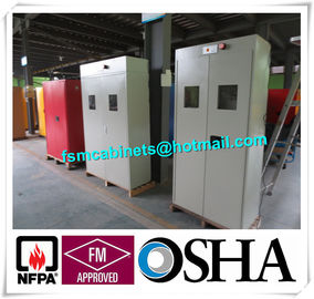 China Cylinder Fireproof Industrial Safety Cabinet , Ventilated Cylinder Storage Safety Cabinet distributor