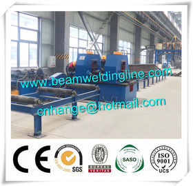 China Automatic H Beam Welding Line , H Beam Gantry Welding And Straightening Machine distributor