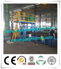 China H Beam Welding Line , Horizontal Welding Machine For H Beam distributor