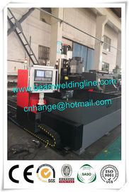 China Automatic Cnc Steel Plate Drilling Machine , H Beam Production Line Welding Beam distributor