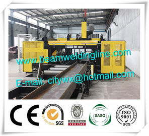 China H Beam 3D CNC Drilling Machine , Sunrise CNC Drilling Machine For Beams distributor
