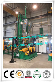 China Automatic H Beam Welding Line For Steel Construction Building , PEB Welding Machine distributor