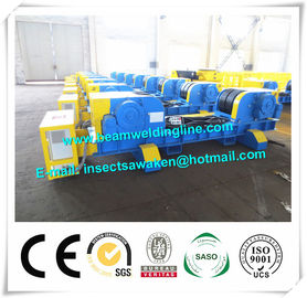 China Europ Standard Conventional Welding Rotator / 600 Tons Pipe Rollers For Welding distributor