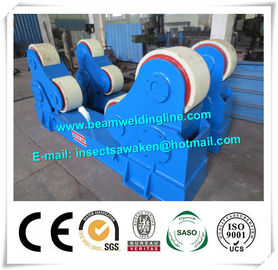 China Automated PU Roller Pipe Welding Rotator / 5 Ton Welding Turning Rolls distributor