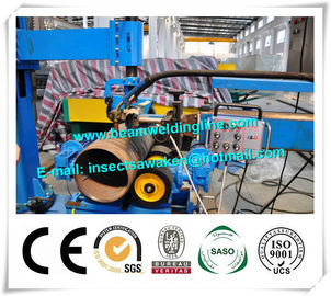 China Column And Boom Weld Manipulator Pinch Welding Rotator For Flange / Pipe distributor