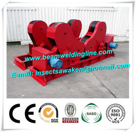 China Self Aligned Pipe Welding Rotator Column Boom Pipe Welding Turning Roll For Tank distributor