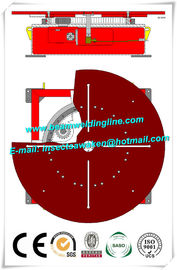 China Welding Turntable 0.05rpm - 0.5rpm Pipe Weld Positioner , Tank Flange Welding Machine distributor